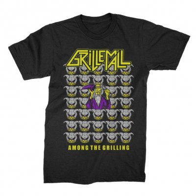grill-em-all - Among The Grilling Tee (Black)