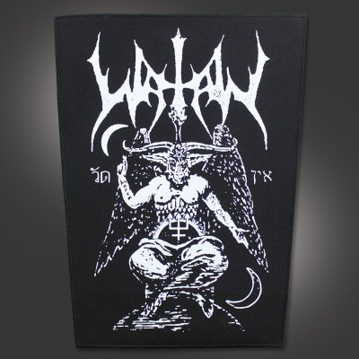 watain - Baphomet Back Patch