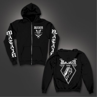 watain - Uppsala Zip-Up Hoodie (Black)
