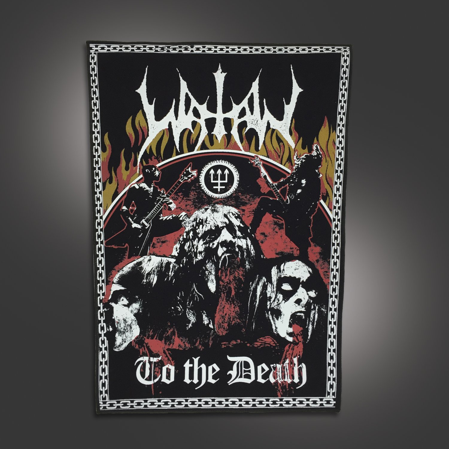 IMAGE | To The Death Back Patch