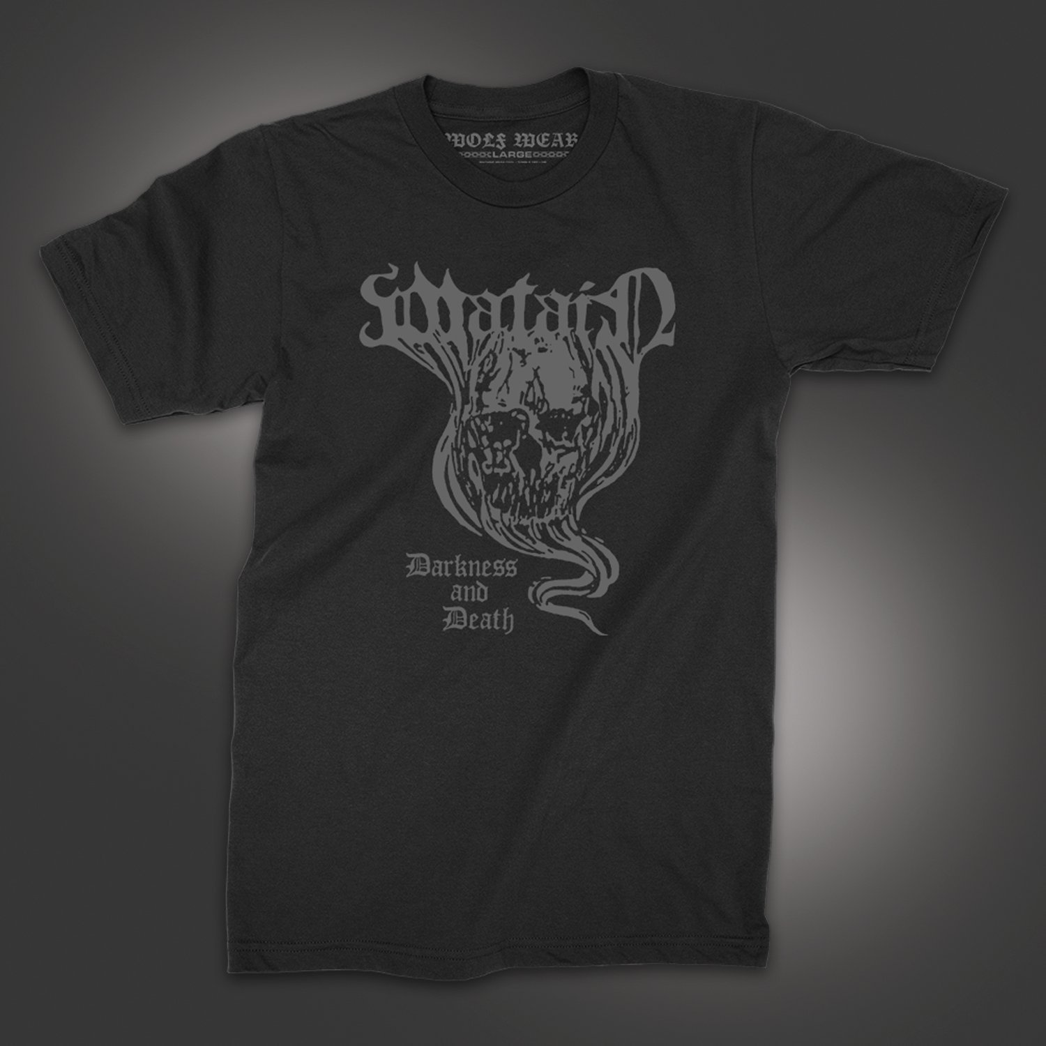 IMAGE | Darkness and Death T-Shirt (Black)