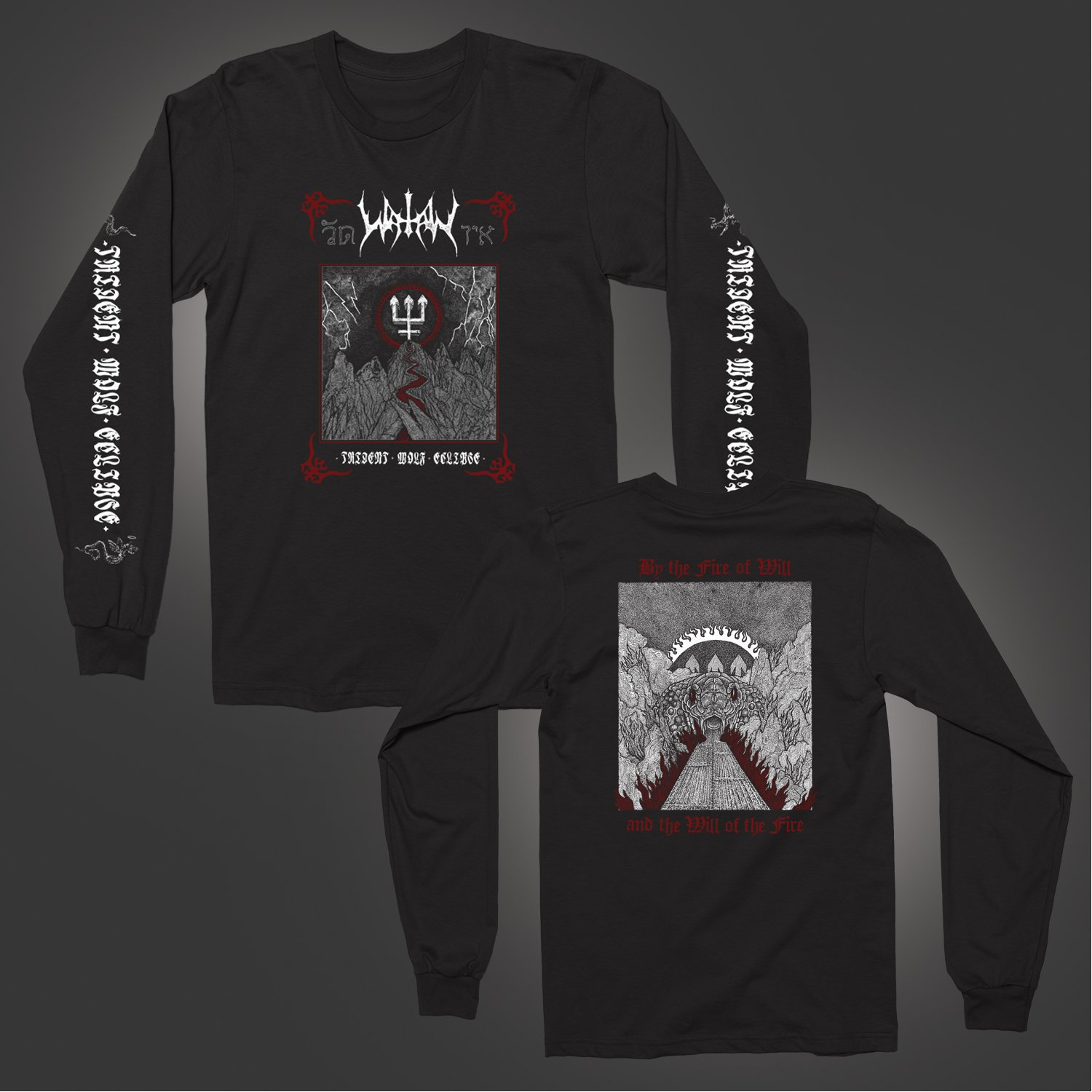 IMAGE   Trident Wolf Eclipse Long Sleeve (Black)