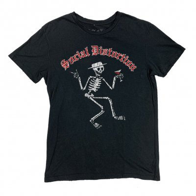 social-distortion - Vintage Skelly T-Shirt (Antique Black)