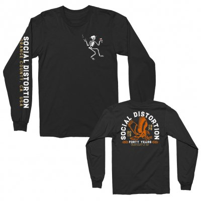social-distortion - Eagle Long Sleeve (Black)