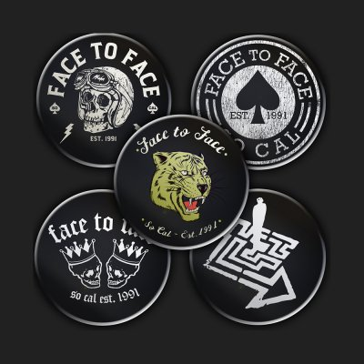 face-to-face - 2019 Button Pack