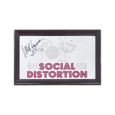 social-distortion - 40 Years Bar Mirror (Signed)