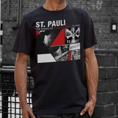 Refused - FC St Pauli / Refused Collab Tee (Black)