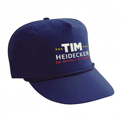 Tim Heidecker For District Attorney Hat (Navy)