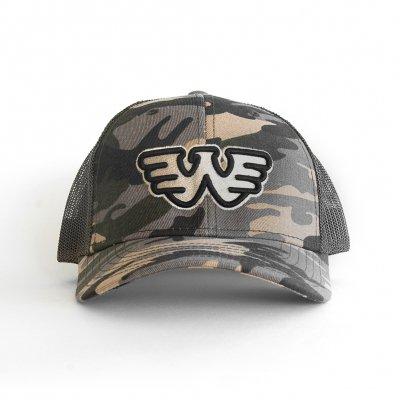 waylon-jennings - W Logo Hat (Camo)