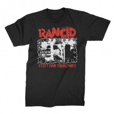 rancid - Street Punk Troublemaker T-Shirt (Black)