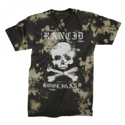 rancid - Hooligans T-Shirt (Bleached)