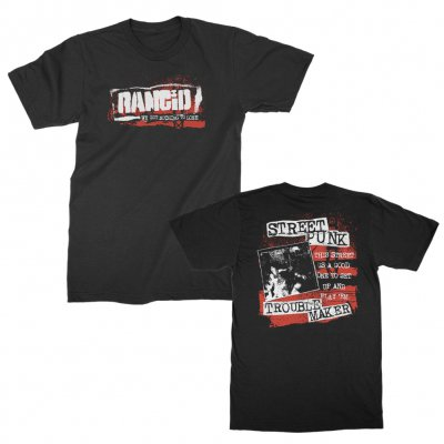 rancid - Nothing To Lose T-Shirt (Black)