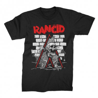 rancid - Crust Skele-Tim Breakout T-Shirt (Black)