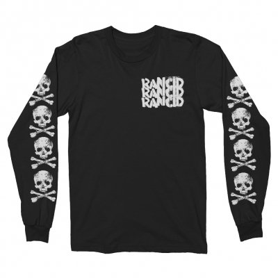 rancid - D-Skull Long Sleeve (Black)