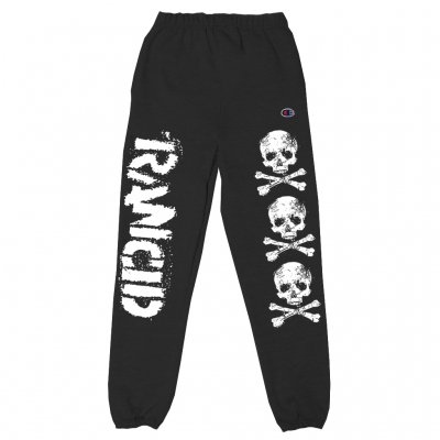 rancid - D-Skull Sweat Pants (Black)