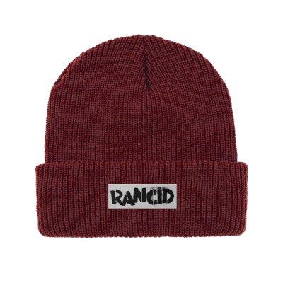 rancid - Stencil Logo Beanie (Oxblood)