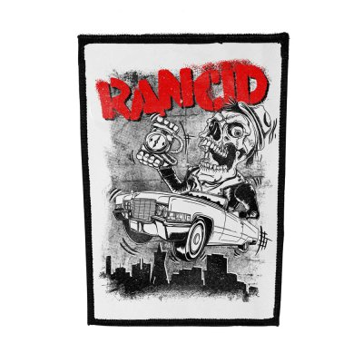 rancid - Cadillac Canvas Back Patch