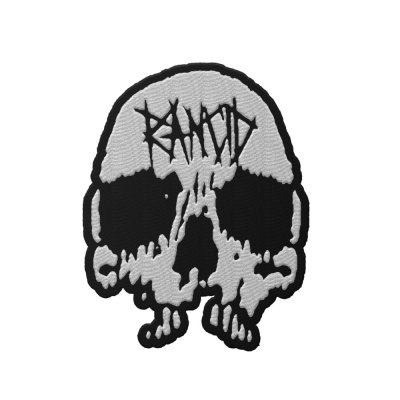 rancid - Skull Die Cut Patch