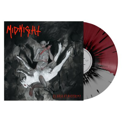 midnight - Rebirth By Blasphemy LP (Grey/Oxblood/Black)