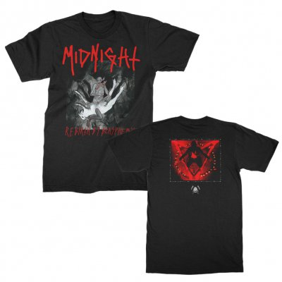 midnight - Rebirth By Blasphemy Album T-Shirt (Black)