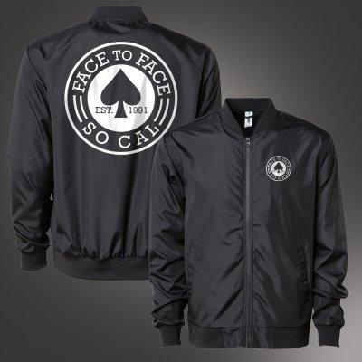 Spade Bomber Jacket (Black)
