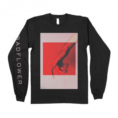 badflower - Drip Long Sleeve Tee (Black)