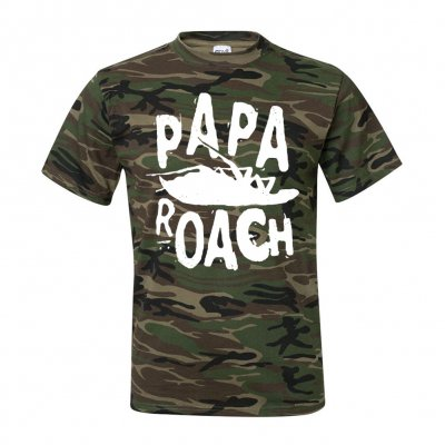papa-roach - Classic Logo Tee (Camo)