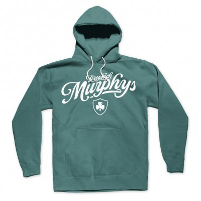 dropkick-murphys - Script Pullover Hoodie (Green)
