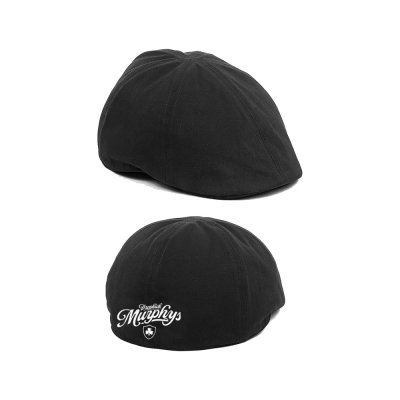Script Scally Cap (Black)