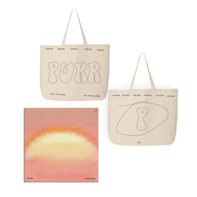 Purr - Like New CD + Tote Bag (Natural) Bundle
