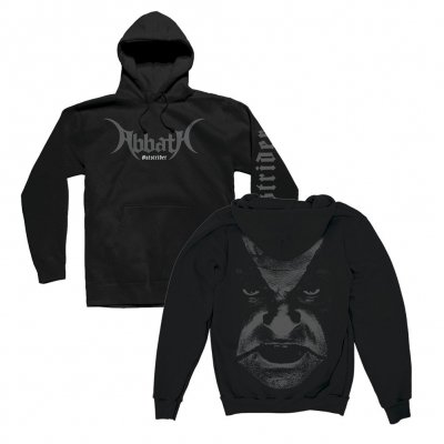 abbath - Outstrider Close Up Pullover Sweatshirt (Black)