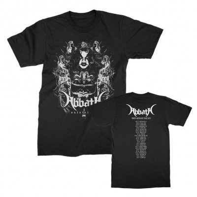 abbath - Ghost Skeletons Dateback T-Shirt (Black)