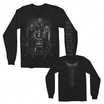 abbath - Outstrider Band Dateback Long Sleeve (Black)