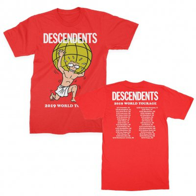 descendents - Atlas 2019 Tourage Tee