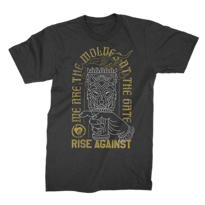 rise-against - Torch Wolf Tee (Black)