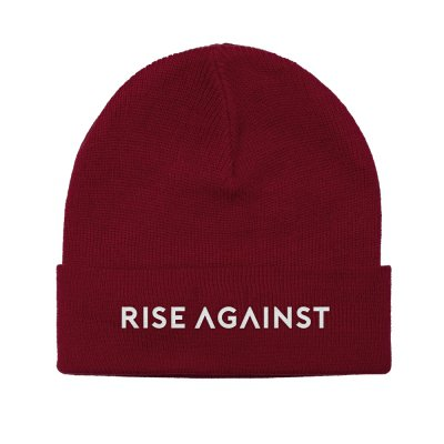 rise-against - Classic Logo Beanie (Red)