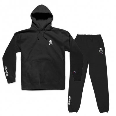rancid - D-Skull Champion Embroidered Knit Kit (Black)