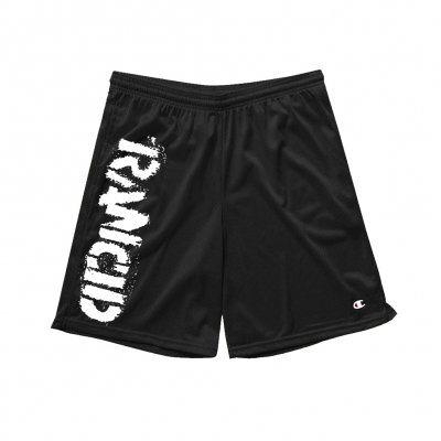 rancid - Stencil Logo Champion Shorts (Black)