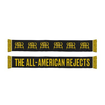the-all-american-rejects - Logo Scarf (Black/Yellow)
