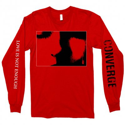 converge - Love Is Not Enough Long Sleeve (Red)