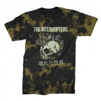 the-interrupters - Broken World T-Shirt (Bleach Dyed)