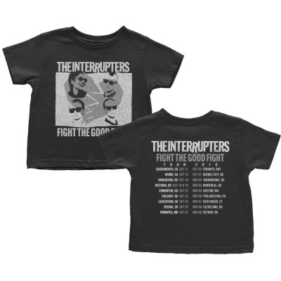 the-interrupters - FTGF Fall 2019 Tour Youth T-Shirt (Black)