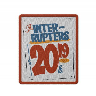 the-interrupters - Grocery Sign Patch