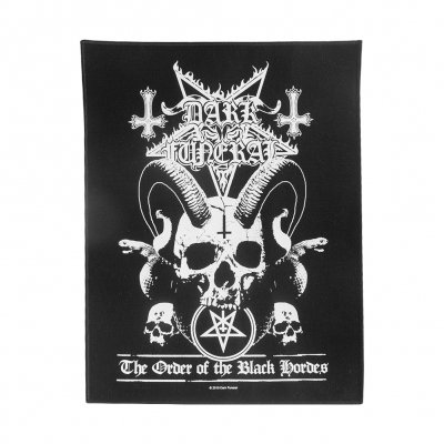 dark-funeral - Black Hordes Back Patch