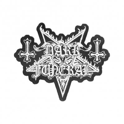 Dark Funeral - Die Cut Logo Patch