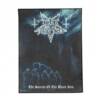 dark-funeral - Secrets Of The Black Arts Back Patch