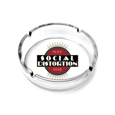 social-distortion - 40th Anniversary Glass Ash Tray