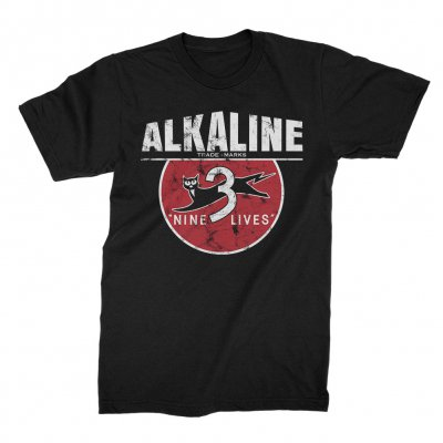 alkaline-trio - Nine Lives Tee (Black)