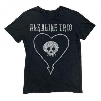 alkaline-trio - Heartskull Vintage Tee (Black)