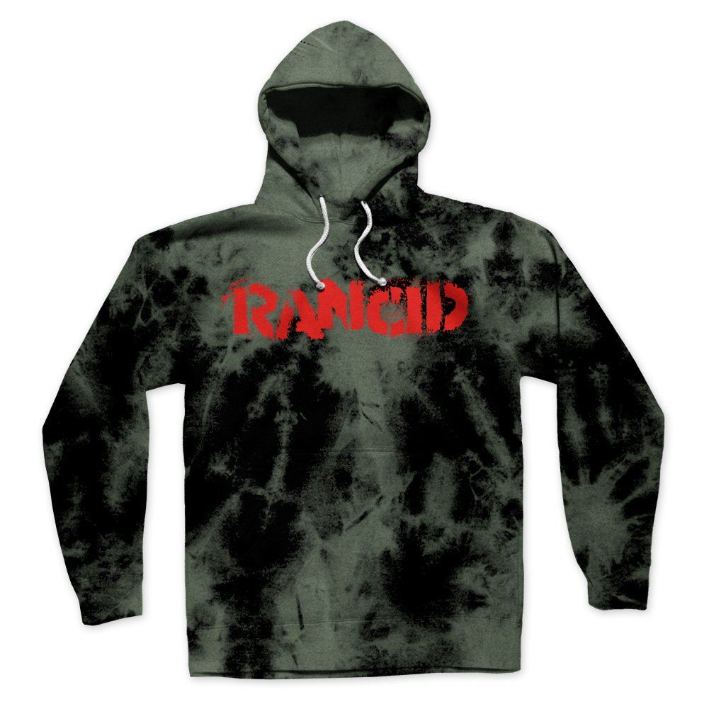 IMAGE | Stencil Logo Pullover Hoodie (Bleached)